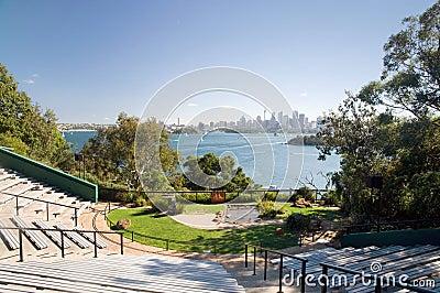 звеец Сиднея горизонта города Редакционное Фотография