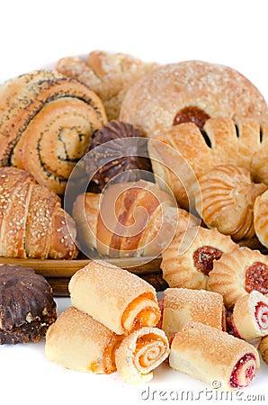 Τρόφιμα αρτοποιείων που τίθενται