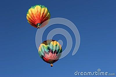 μπαλόνια καυτά δύο αέρα