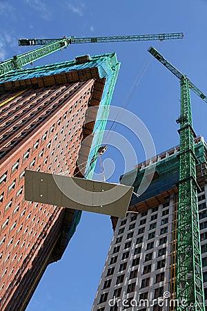 修建高层的公寓