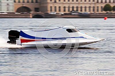 冠军快速汽艇