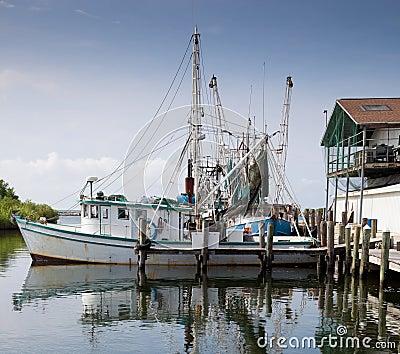 小船商业捕鱼业海滨广场