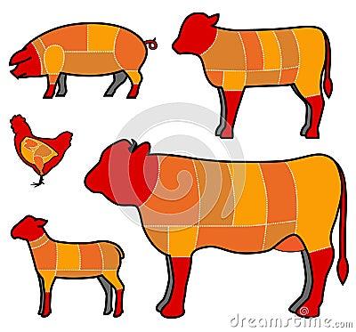 τέμνον κρέας
