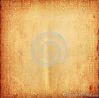 背景老纸文本泰国传统