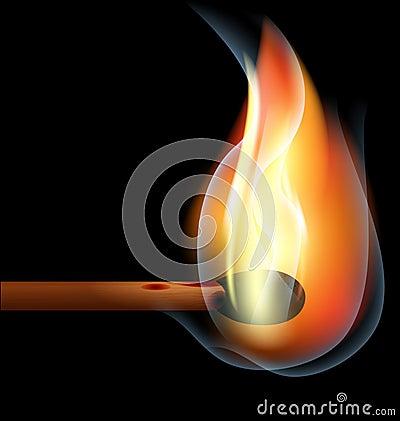 καίγοντας αντιστοιχία