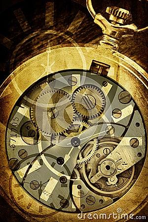 схематический сбор винограда времени изображения