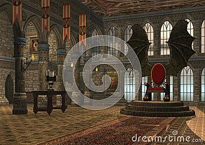 трон дракона