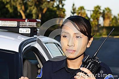 полиции офицера