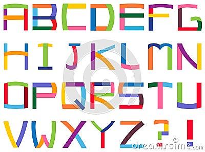 αλφάβητο ζωηρόχρωμο