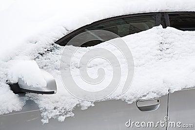 汽车包括雪