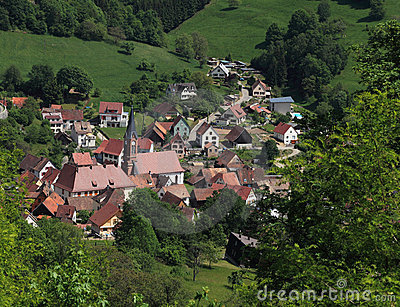 阿尔萨斯村庄