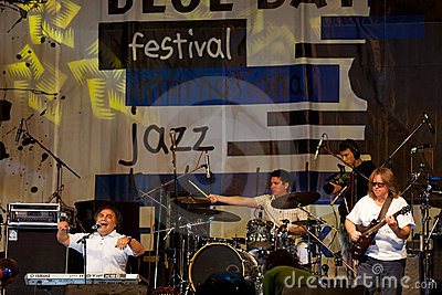 τζαζ ζωνών Εκδοτική Φωτογραφία