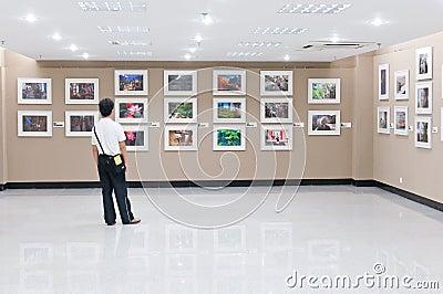 Μουσείο Τέχνης Εκδοτική Στοκ Εικόνα