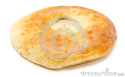 面包平展在周围