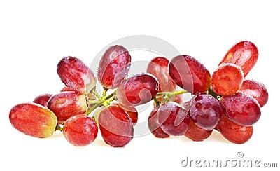 红色的葡萄