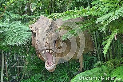 侏罗纪公园 编辑类库存照片