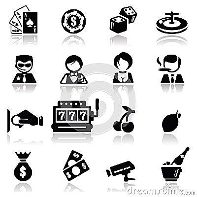 Иконы установили казино