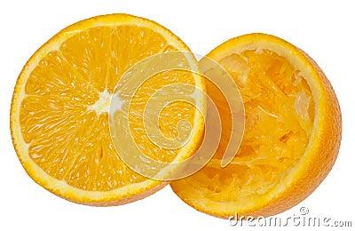 πορτοκάλι μισών
