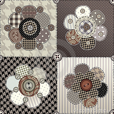 设计花缝制