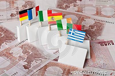 危机负债多米诺作用欧元