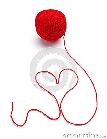 重点编织的形状羊毛