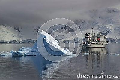 南极旅游业 图库摄影片