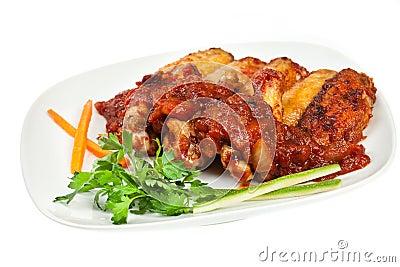 крыла цыпленка