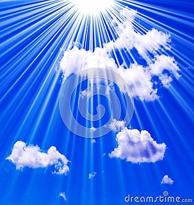 небо рая