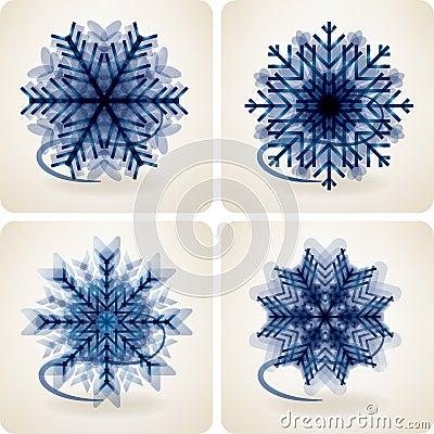 снежок хлопьев