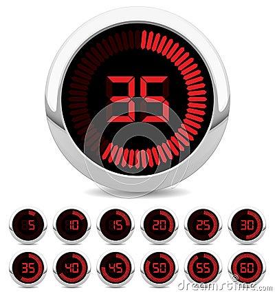 ψηφιακό χρονόμετρο