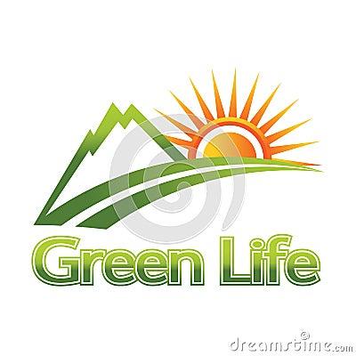 зеленый логос жизни