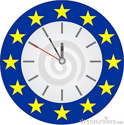 危机欧元向量