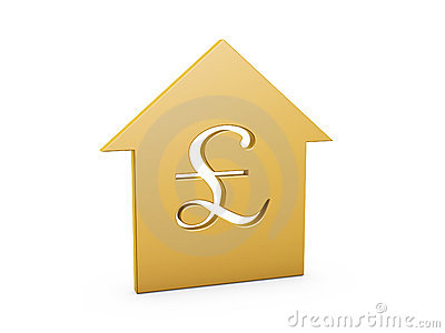 символ фунта дома