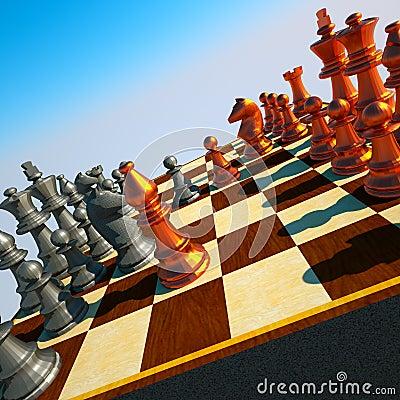 Сражение шахмат