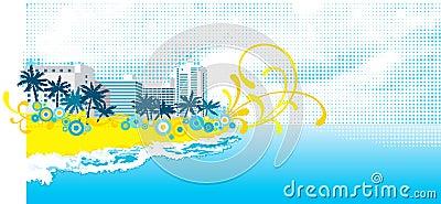 热带的背景