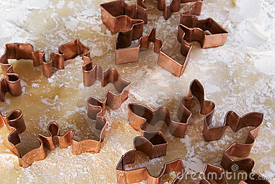 снежинка резцов печенья