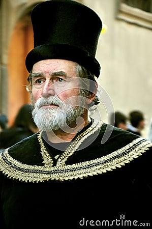 中世纪游行在意大利图片