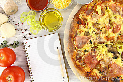 συνταγή πιτσών