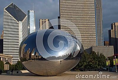 芝加哥云彩门伊利诺伊 编辑类图片