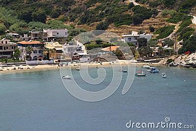 пляж среднеземноморской