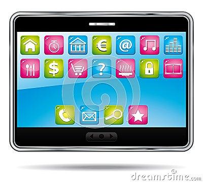 ψηφιακή ταμπλέτα εφαρμογών