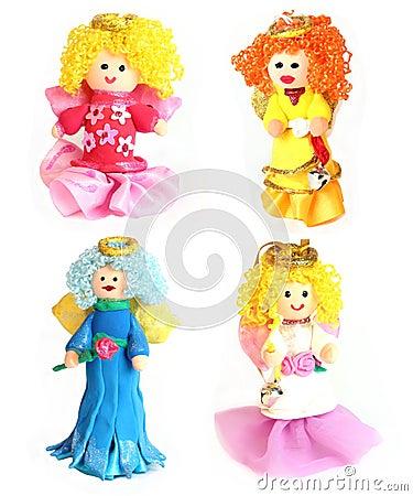 Ручной работы куклы