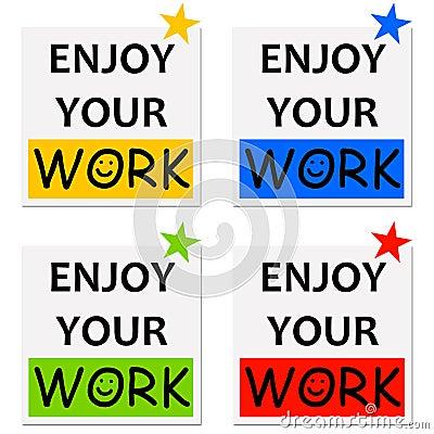 享受您的工作