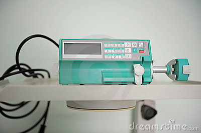 监控程序泵注射器
