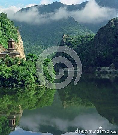 ποταμός Ρουμανία φαραγγι