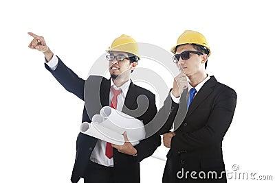 建筑师他的合作伙伴