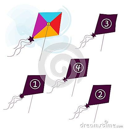 飞行风筝形状