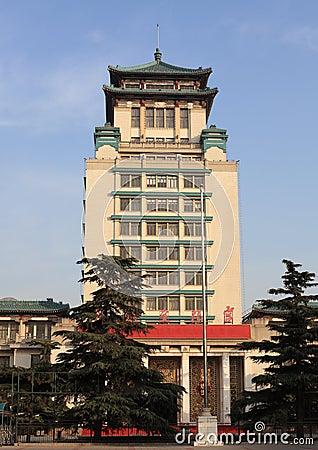 καλλιεργητικό παλάτι υπηκοοτήτων της Κίνας Εκδοτική Στοκ Εικόνες
