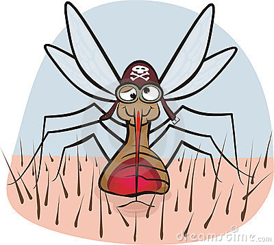 血液蚊子吮