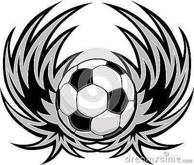 足球模板翼